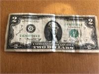 Two Dollar Bill 364A