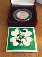 Mickey Lucky 1/2 oz. Pure Silver