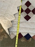 5 Quilts Various Sizes