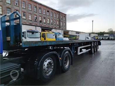 MONTRACON TRI AXLE FLAT TRAILER at TruckLocator.ie