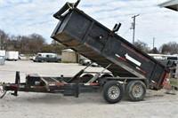 2013 Texas Pride Dump Trailer, Approx. 14'L,