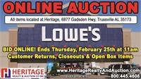 Lowe's Merchandise - ends 2/25/21