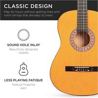 38in Beginner All Wood Acoustic Guitar