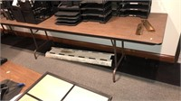 8' Folding Table  Table ONLY NO CONTENTS