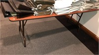 6' Folding Table.   Table ONLY NO CONTENTS