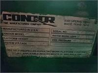 CONDOR V2648XL SCISSOR LIFT