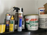 Paints, Stains And Cleaning Supplies