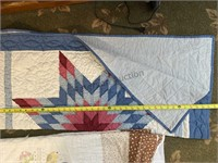 6 Quilts Various Sizes