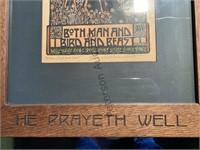 Kathleen West Print / He Prayeth Well