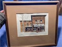 Lock Stock & Barrel Sign and KW Painting