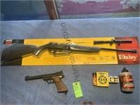 Daisy 880S and Crossman 1600 BB Guns