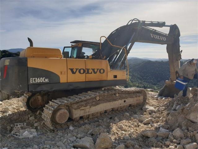 2010 VOLVO EC360C NL a mapfortrading.com