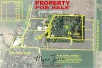 11+/- Acre Lamar County Land Auction