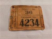 Hunting license & JD tractors auction