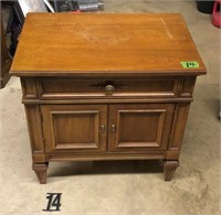 End table with drawer & 2 doors
