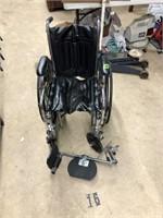Black wheel chair Breezy EC