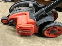 Black & Decker electric yard edger