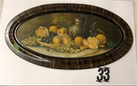 """Oval picture of fruit 33"""""""