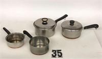 Flat of pots & pans