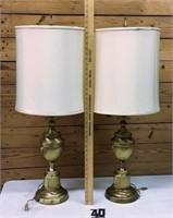 2 Stifel lamps high dollar