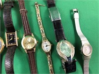 8 Watches & chain