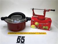 Gordon Ramsey pressure cooker & Apple peeler