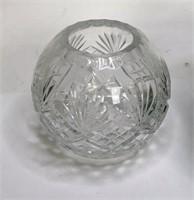 Cut glass pieces