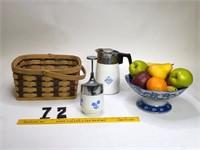 Fruit bowl & Basket