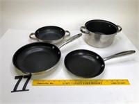 Cook Essentials Pans & Wolf Gang Puck pans