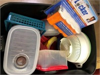 2 Containers of storage items