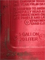 5 Gal gas can