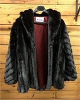 Black Monterey Fur Coat