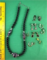 Necklaces Black
