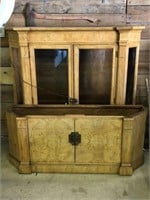 Century Furniture Lighted China Cabinet
