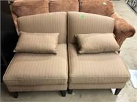2 Stuffed Side Chairs