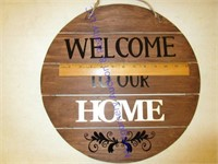 TASTEFULLY SIMPLE AND WOODEN SIGN