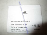 BEARDED BUFFALO GOLF