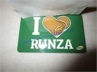 RUNZA ($25)