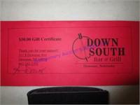 DOWN SOUTH $