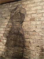 Vintage Metal Dress Form