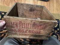 Early Pellet Black Powder Crate