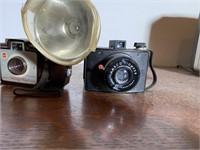 2 Pcs. Kodak Holiday Flash and Ansco Pioneer Camer