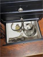 Ladies Jewelry Box with Contents