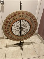 50's Style Carnival Game, Cast Iron Base