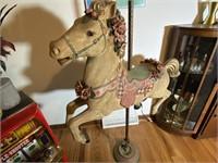 Vintage 60's Carousel Horse