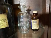 3 Pcs. Vintage Medicine Bottles