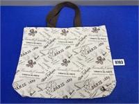 Paris Themed 19x15 Hand Bag