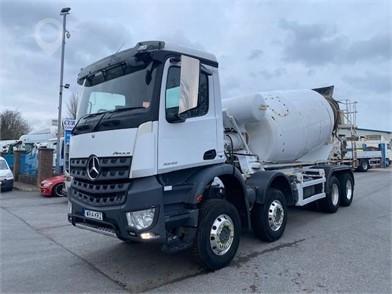 2014 MERCEDES-BENZ AROCS 3243 at TruckLocator.ie