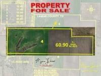 Texas Acreage Land for Sale - Lamar County