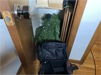 Closet of Misc. Home & Workout Items